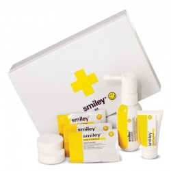 Smiley Estuche edp 50 ml spray + Body Gel 15 ml + Aceite Corporal 3X10 ml + Sales Baño X2