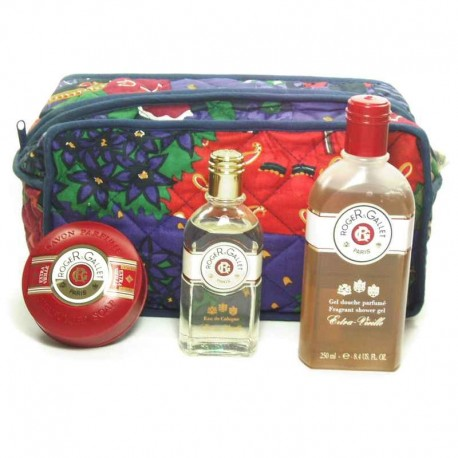Roger & Gallet Extra Vieille Estuche eau cologne 100 ml + Shower Gel 250 ml + Perfumed Soap 100 g + Neceser