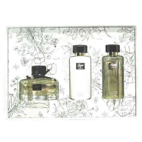 Gucci Flora Estuche edt 75 ml spray + Body Lotion 100 ml + Shower Gel 100 ml