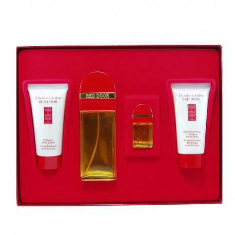 Elizabeth Arden Red Door Estuche edt 50 ml spray + Body Lotion 50 ml + Shower Gel 50 ml + miniatura