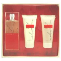Armand Basi In Red Estuche edt 100 ml spray + Body Lotion 100 ml + Shower Gel 100 ml