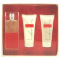 Armand Basi In Red Estuche edt 100 ml spray + Body Lotion 100 ml + Shower Gel 100 ml