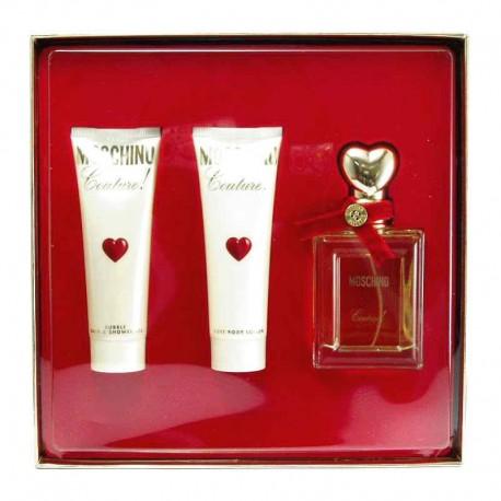 Moschino Couture Estuche edp 50 ml spray + Body Lotion 50 ml Shower gel 50 ml