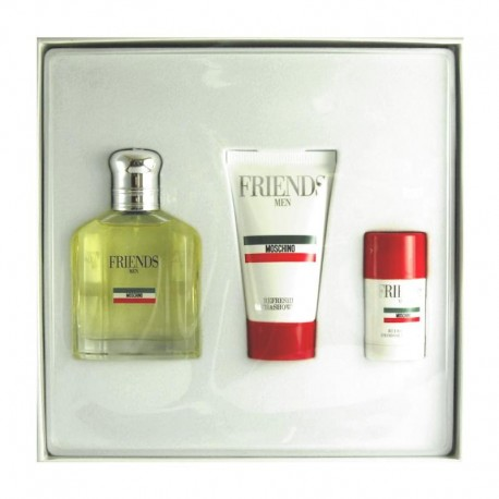 Moschino Friends Estuche edt 75 ml spray + Shower Gel 50 ml + Deo Stick 25 ml