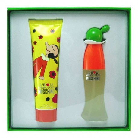 Moschino Cheap and Chic L´eau Estuche edt 50 ml spray + Body Lotion 150 ml