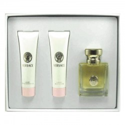 Versace Pour Femme Estuche edp 50 ml spray + Shower Gel 50 ml + Body Lotion 50 ml