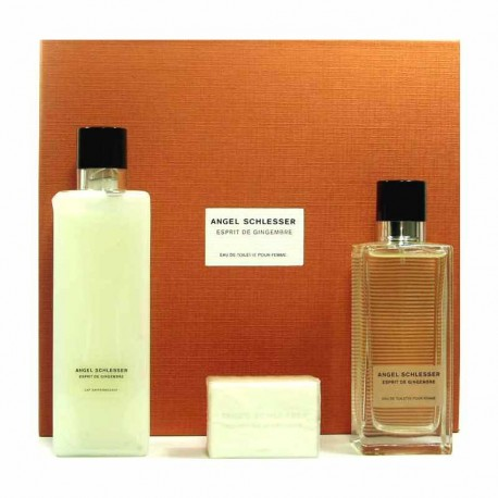 Angel Schlesser Femme Esprit de Gingembre Estuche edt 100 ml spray + Body Lotion 200 ml + Jaboneta 50 g