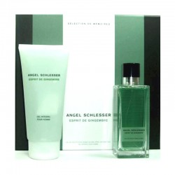 Angel Schlesser Homme Esprit de Gingembre Estuche edt 100 ml spray + Shower Gel 200 ml