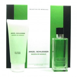 Angel Schlesser Homme Madera de Naranjo Estuche edt 100 ml spray + Shower Gel 200 ml