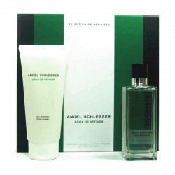 Angel Schlesser Homme Agua de Vetiver Estuche edt 100 ml spray + Shower Gel 200 ml