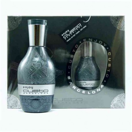 Custo Enjoy Man Estuche edt 100 ml spray + Custo Enjoy Man edt 30 ml spray