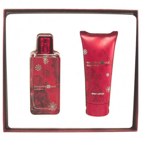 Mandarina Duck Rouge Intense Estuche edt 50 ml spray + Body Lotion 100 ml