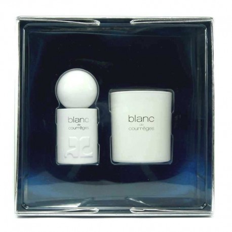 Courreges Blanc Estuche edp 50 ml spray + Vela Perfumada