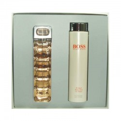 Hugo Boss Orange Woman Estuche edt 75 ml spray + Body Lotion 200 ml