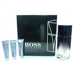 Hugo Boss Soul Estuche edt 90 spray + face wash 15 ml + face scrub 15 ml + moisture cream 15 ml