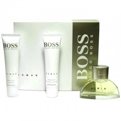Hugo Boss Woman Estuche edp 50 ml spray + Body Lotion 50 ml + Shower Gel 50 ml