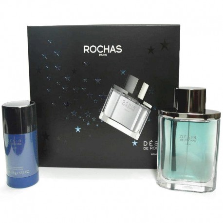 Rochas Desir Homme Estuche edt 100 ml spray + Deodorant Stick 75 ml