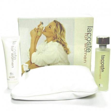 Lacoste For Women Estuche edt 50 ml spray + Neceser + Body Lotion 50 ml
