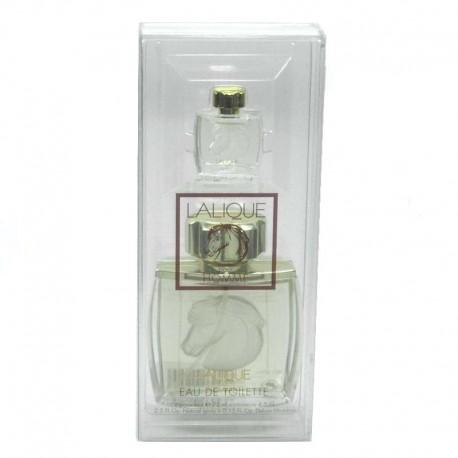 Lalique Pour Homme Equus Estuche edt 75 ml spray + miniatura