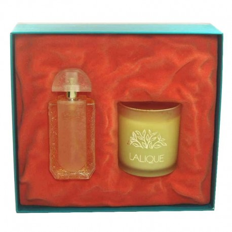 Lalique Ambiance Estuche edt 50 ml spray + Vela Perfumada