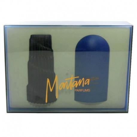 Montana Homme Estuche edt 125 ml spray + Gel Baño 150 ml