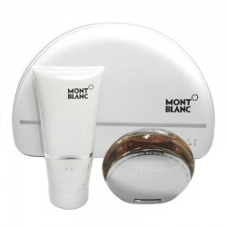 Mont Blanc Presence D´une Femme Estuche edt 75 ml spray + Body Lotion 200 ml