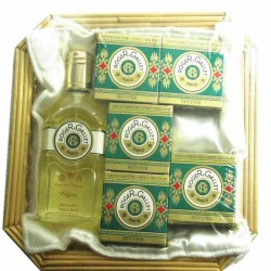 Roger & Gallet Vetyver Estuche eau cologne 100 ml spray + 5 Jabonetas