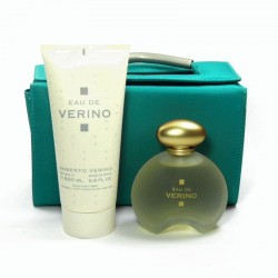 Roberto Verino Eau de Verino Estuche edt 100 ml spray + Body Lotion 200 ml + Neceser