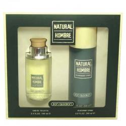 Don Algodon Natural Hombre Estuche edt 100 ml no spray + Deo Spray 200 ml