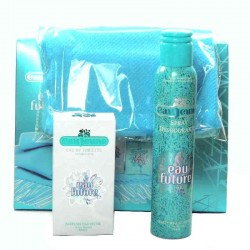 Eau Jeune Eau Future Estuche edt 75 ml spray + Deo 200 ml spray + Pashmina