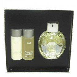 Giorgio Armani Emporio Diamonds Estuche edp 100 ml spray + Shower Gel 50 ml + Body Lotion 50 ml