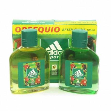 Adidas Sport Estuche edt 100 ml no spray + After Shave 100 ml