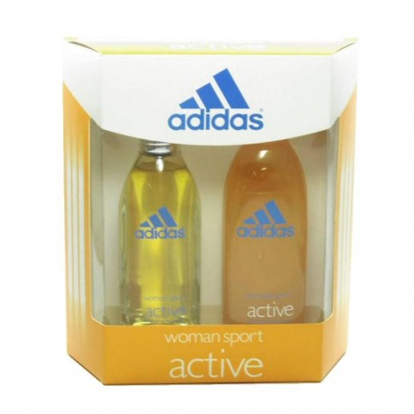 Adidas Active Estuche edt 100 ml spray + Shower Gel 200 ml
