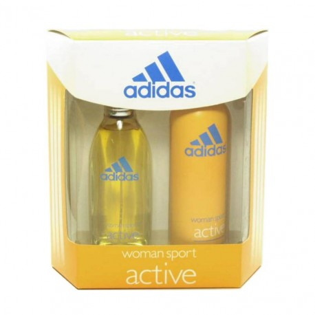 Adidas Active Estuche edt 100 ml spray + Deo spray 150 ml