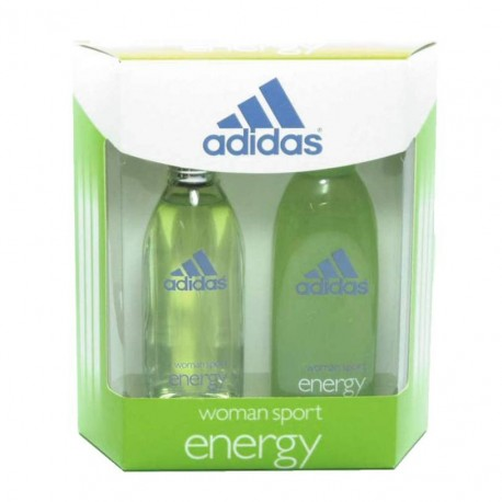 Adidas Energy Estuche edt 100 ml spray + Shower Gel 200 ml
