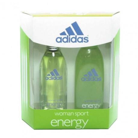 Adidas Energy Estuche edt 100 ml spray + Shower Gel 200 ml