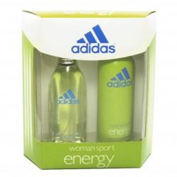 Adidas Energy Estuche edt 100 ml spray + Deo spray 150 ml