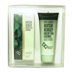 Alyssa Ashley Green Tea Essence Estuche edt 100 ml spray + Body Lotion 250 ml