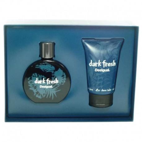 Desigual Dark Fresh Estuche edt 100 ml spray + After Shave Balm 100 ml