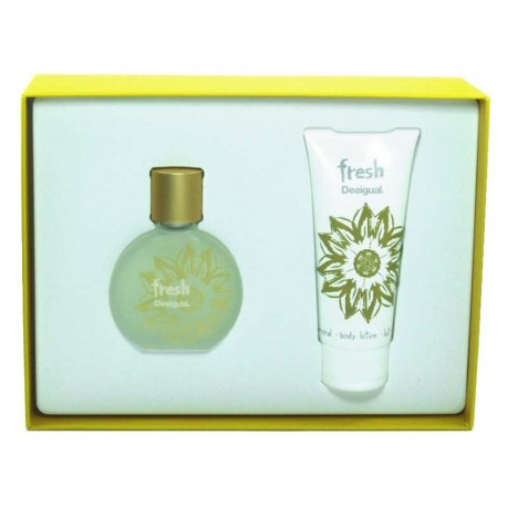 Desigual Fresh Estuche edt 50 ml spray + Body Lotion 100 ml