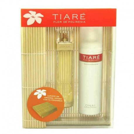 Tiaré Flor de Polinesia Myrurgia Estuche edt 75 ml spray + Desodorante 150 ml spray