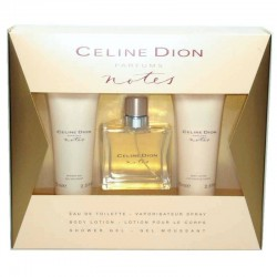 Celine Dion Notes Estuche edt 50 ml spray + Shower Gel 75 ml + Body Lotion 75 ml