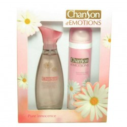 Chanson d´Emotions Pure Innocence Coty Estuche edt 100 ml spray + Desodorante 150 ml spray