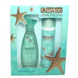 Chanson d´Emotions Calme de la Mer Coty Estuche edt 100 ml spray + Desodorante 150 ml spray