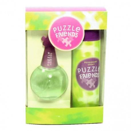 Puzzle Friends Coty Estuche edt 100 ml spray + Desodorante 200 ml spray