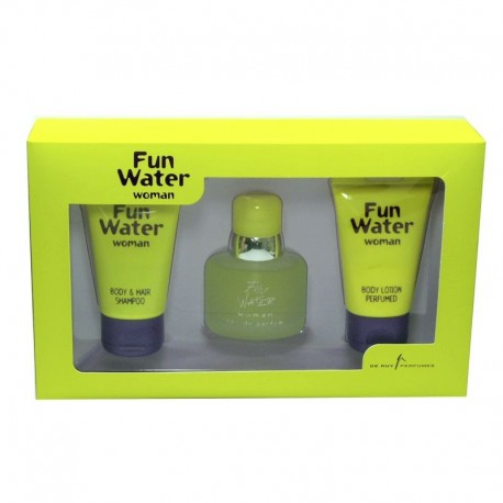 Fun Water Woman De Ruy Estuche edp 50 ml spray + Body Lotion 50 ml + Gel de Baño 50 ml