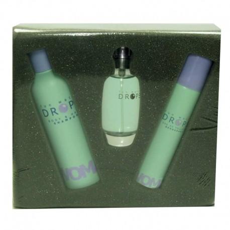 Fun Water Drops De Ruy Estuche edt 50 ml spray + Desodorante spray 75 ml + Gel de Baño 200 ml