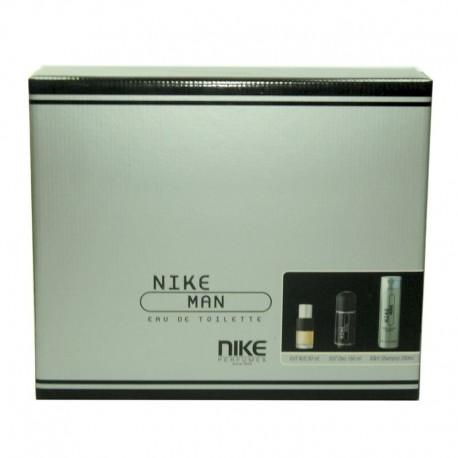 Nike Man Estuche edt 50 ml spray + Desodorante spray 150 ml + Gel de Baño 200 ml
