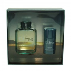 Calvin Klein CK Free Estuche edt 100 ml spray + Desodorante en Barra 75 ml