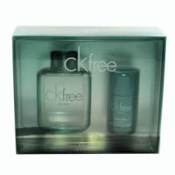 Calvin Klein CK Free Estuche edt 100 ml spray + Desodorante en Barra 75 ml